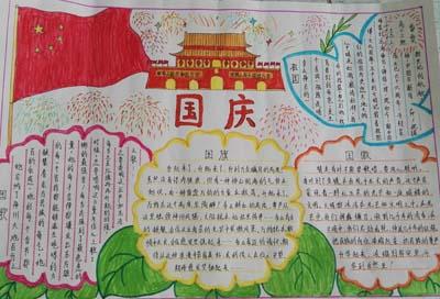 """市油田艺术中学""""庆国庆""""手抄报评比结果揭晓"""